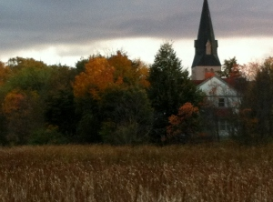 Church From Waterfowl Park