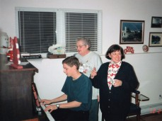 Mom loved to sing and she had a great voice.