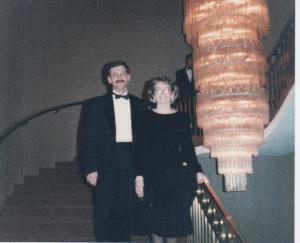 At RBC's Board of Directors Gala , Toronto ON, 1990