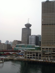 One view of downtown Vancouver